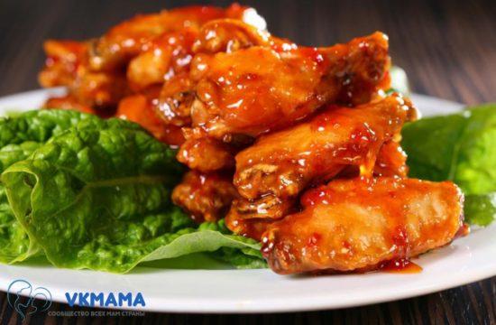 Простейший рецепт курицы в остром соусе - сообщество всех мам