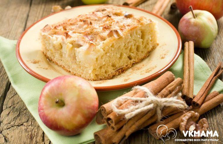 Шарлотка «Яблоневый сад» рецепты для хозяек на сайте vkmama.ru