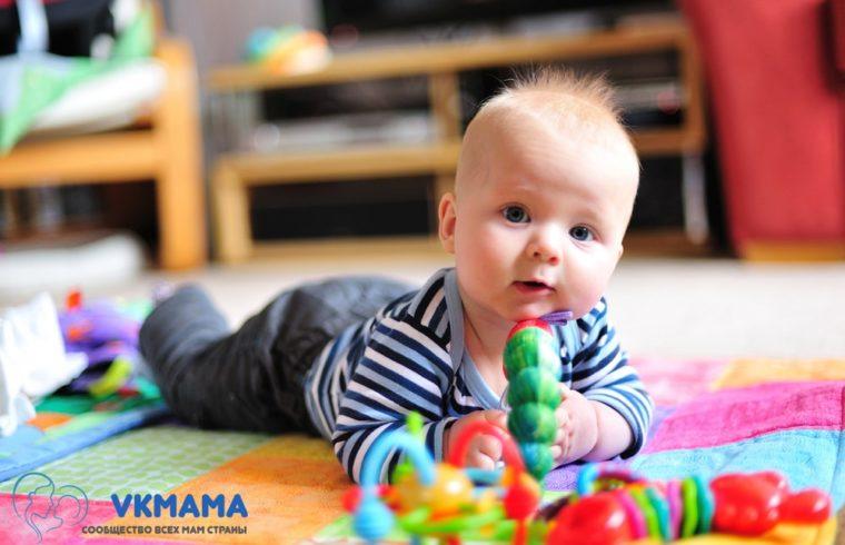 Воспитание ребенка с рождения до года