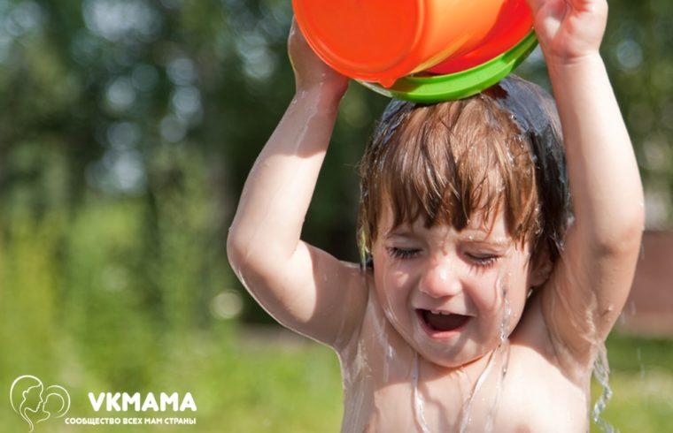Как закалять ребенка. Первое лето малыша