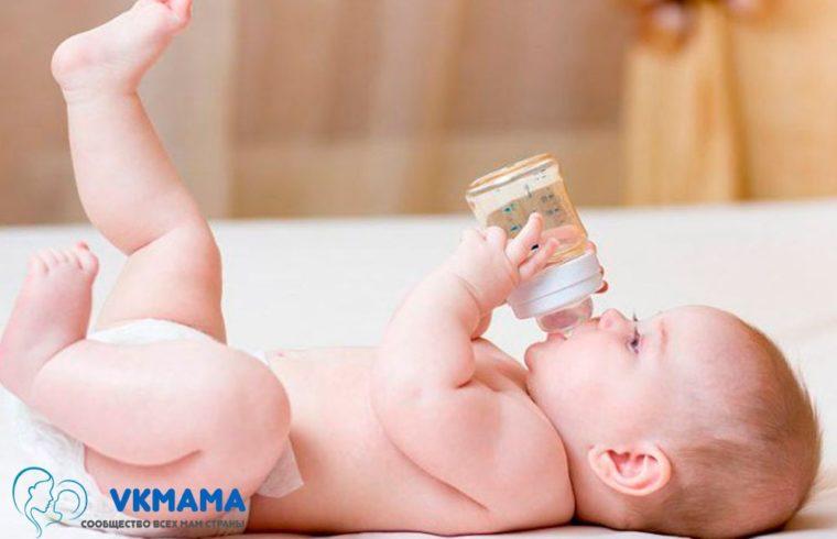 Отучаем ребенка от бутылочки