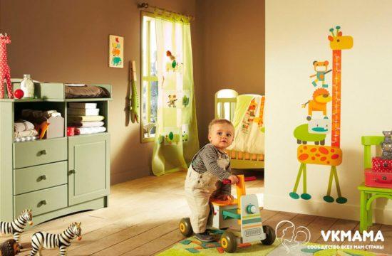 Отселение ребенка в детскую комнату
