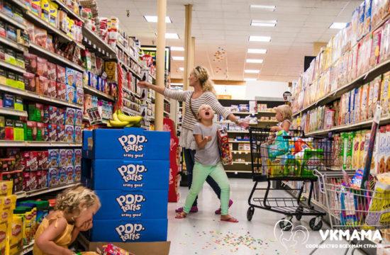 Как ходить по магазинам с ребенком?