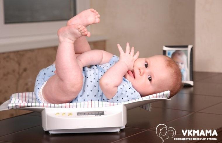 Почему ребёнок плохо прибавляет в весе?