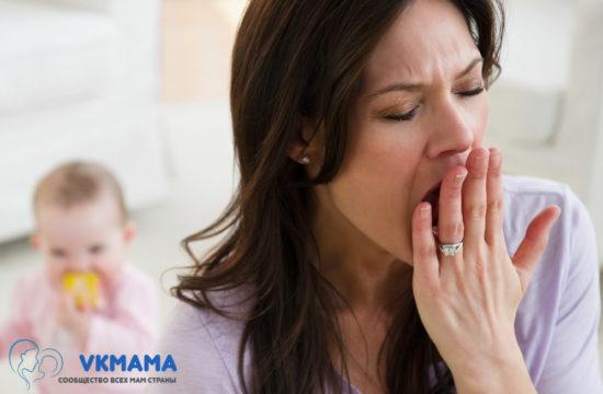 Чем занять малыша, когда мама болеет?