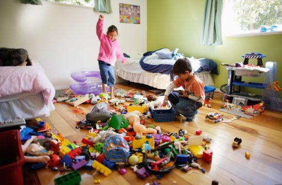 В детской может быть порядок